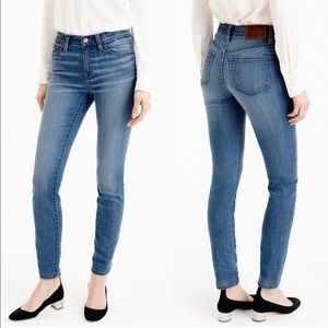 J. Crew Lookout High Rise Super Skinny Jeans